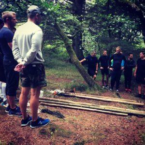 Vildmarkscentret - Teambuilding