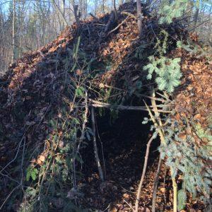 Vildmarkscentret - Udeliv, shelter